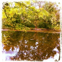 Photo taken at Tyler State Park by Steven L. on 9/30/2012