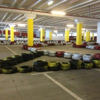 Photo taken at City Centre One Karting by Tea D. on 6/23/2013