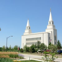 Photo taken at Kansas City Missouri Temple by Sean W. on 7/11/2013