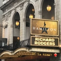 Photo taken at Hamilton: An American Musical by You, Me &. on 5/16/2018