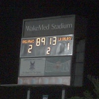 Photo taken at WakeMed Soccer Park by Donnie N. on 1/10/2013
