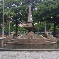 Photo taken at Praça General Osório by Emerson S. on 5/29/2013