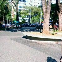 Photo taken at Praça Afonso Arinos by Emerson S. on 7/17/2013