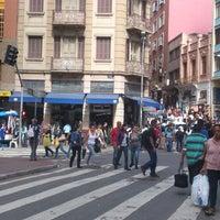 Photo taken at Rua 25 de Março by Emerson S. on 3/30/2013