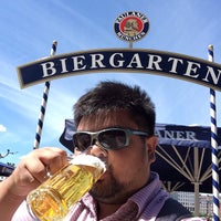 Photo taken at Biergarden Holstenplatz by Kenneth L. on 6/4/2015