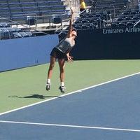 Photo taken at Practice Court 6 / Old Grandstand - USTA Billie Jean King National Tennis Center by Kenneth L. on 8/27/2016