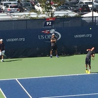 Photo taken at Practice Courts (1-5) - USTA Billie Jean King National Tennis Center by Kenneth L. on 8/27/2015