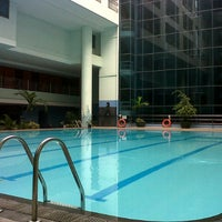 Photo taken at Swimming Pool Pacific Palace by gracesella t. on 1/16/2013