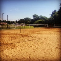 Photo taken at Marshall Sand Volleyball Courts by Jason M. on 7/20/2013