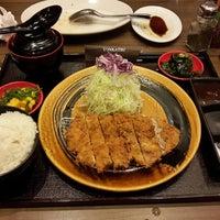Photo taken at Tonkatsu by Terazawa by Bryan I. on 12/8/2014