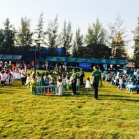 Photo taken at Sarasas Witaed Suksa School by Weeraphol_e on 1/21/2015