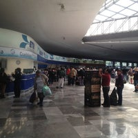 Photo taken at Terminal Central de Autobuses del Poniente by Luis Roots R. on 1/20/2013