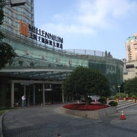 Photo taken at Millennium Hongqiao Hotel Shanghai by Thierry C. on 6/21/2013