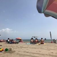 Photo taken at Playa Puerto Rey by Bruno M. on 8/14/2017