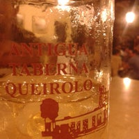 Photo taken at Antigua Taberna Queirolo by Enrique S. on 3/29/2014