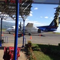 Photo taken at Aeropuerto Perales (IBE) by Juan David P. on 1/9/2015