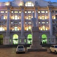 Photo taken at Borsa Italiana S.p.a. by Luis M. on 1/17/2013