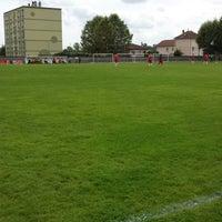 Photo taken at Stade De La Chanal by Garrit F. on 8/25/2013