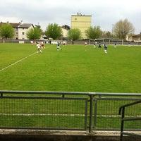Photo taken at Stade De La Chanal by Garrit F. on 4/21/2013