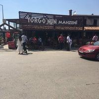 5/21/2017 tarihinde Hamde C.ziyaretçi tarafından Yorgonun Mahzeni Şarap Evi'de çekilen fotoğraf