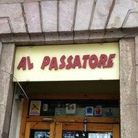 Photo taken at Al Passatore by Анатолий Д. on 5/30/2013