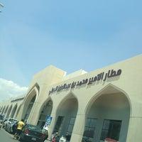 Photo taken at Prince Mohammad Bin Abdulaziz International Airport (MED) by Abdulrahman M. on 5/1/2013