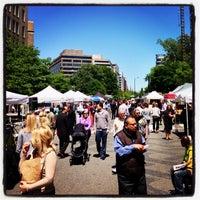 Photo taken at FRESHFARM Market by the White House by Michael B. on 5/2/2013