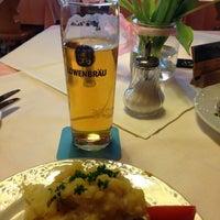 Photo taken at Gasthof Herzogstand by Rosalie H. on 1/15/2013
