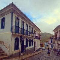 Photo taken at Centro Histórico de Ouro Preto by Germano B. on 5/2/2015