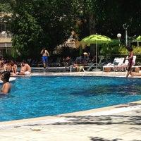 Photo taken at tck yüzme havuzu by Rabia K. on 7/28/2013
