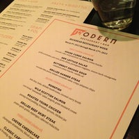 Photo taken at Modern Restaurant + Bar by Xun Q. on 3/10/2013