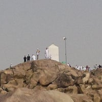 Photo taken at Arafah Mountain by Denie N. on 5/30/2013