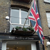 Photo taken at Royal Academy of Dance by Daria H. on 1/31/2014