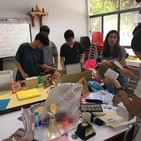 Photo taken at สโมสรนักศึกษาคณะวิทยาศาสตร์ by Pear P. on 8/2/2016