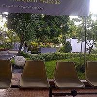Photo taken at Sekolah Tinggi Ilmu Ekonomi Indonesia (STIESIA) by Fitria W. on 7/10/2014