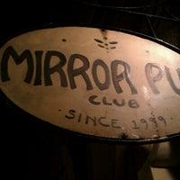 Photo taken at Mirror Pub by Adam R. on 1/26/2013