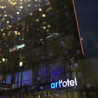 Photo taken at art'otel by Andreas S. on 10/24/2016
