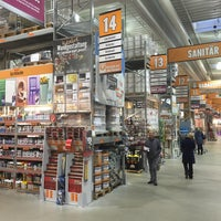 Photo taken at HORNBACH by Andreas S. on 1/16/2016