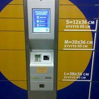 Photo taken at Posti pakettiautomatti Laajasalo by Ilja P. on 12/17/2013