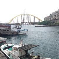 Photo taken at 正濱漁港 by Monica K. on 3/29/2013
