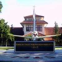 Photo taken at Sekolah Tinggi Penerbangan Indonesia (STPI) by Evlin Regina J. on 3/5/2013