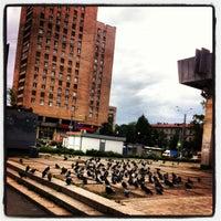 Снимок сделан в Площадь Мужества пользователем 🍒Miss J🍓 8/22/2013