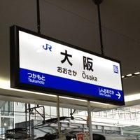 Photo taken at Osaka Station by Yasuaki Y. on 4/19/2013