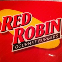 Photo taken at Red Robin Gourmet Burgers by Nathan S. on 2/9/2013