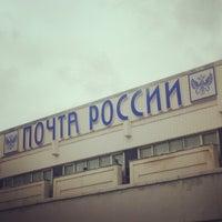 Photo taken at Международный почтамт by Olga N. on 4/7/2013