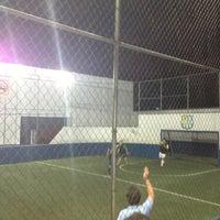 Photo taken at CJU Soccer 5 by Kike B. on 4/5/2013