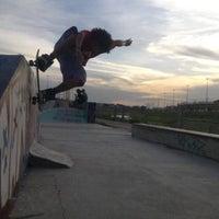Photo taken at Pista de Skate do Morro da Liberdade by ROmulo G. on 3/18/2013