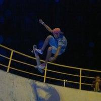 Photo taken at Pista de Skate do Morro da Liberdade by ROmulo G. on 2/15/2013