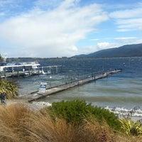 Photo taken at Real Journeys Lake Te Anau by Oxana S. on 1/8/2014