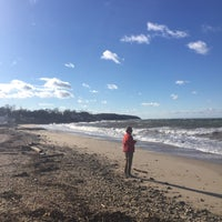 Photo taken at Southold Beach by Meg D. on 11/19/2017